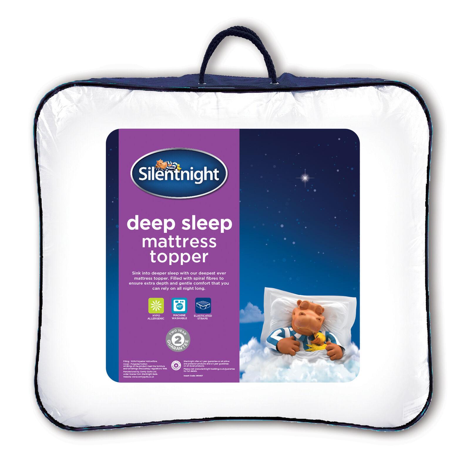 Silentnight Deep Sleep - Hochwertige Matratzenauflage
