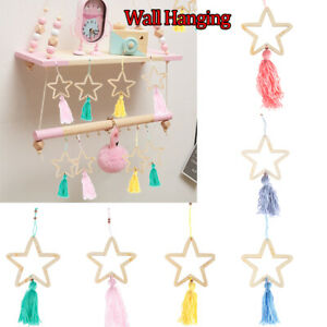 Beauty-Tassel-Pendant-Wall-Hanging-Stars-Beads-Photography-Props-Home-Decors