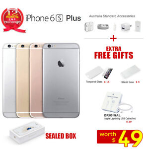 New-in-Sealed-Box-APPLE-iPhone-6S-Plus-64GB-128GB-1Yr-Wty-Factory-Unlocked