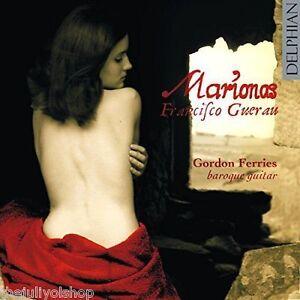 cd-FRANCISCO-GUERAN-MARIONAS-con-GORDON-FERRIES-baroque-guitar-rare