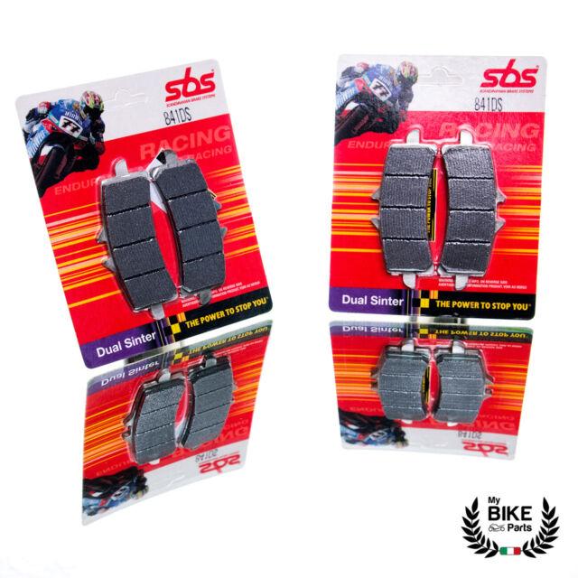 Suzuki Brake Pads Gsx-R 600 750 1000 1300 Hayabus SBS 841 Ds Dual Sinter New