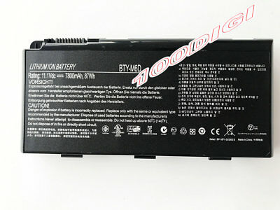Keyboard for MSI GT660 GT660R GT663 GT663R GX660 GX660R GX680 GX680R GT680