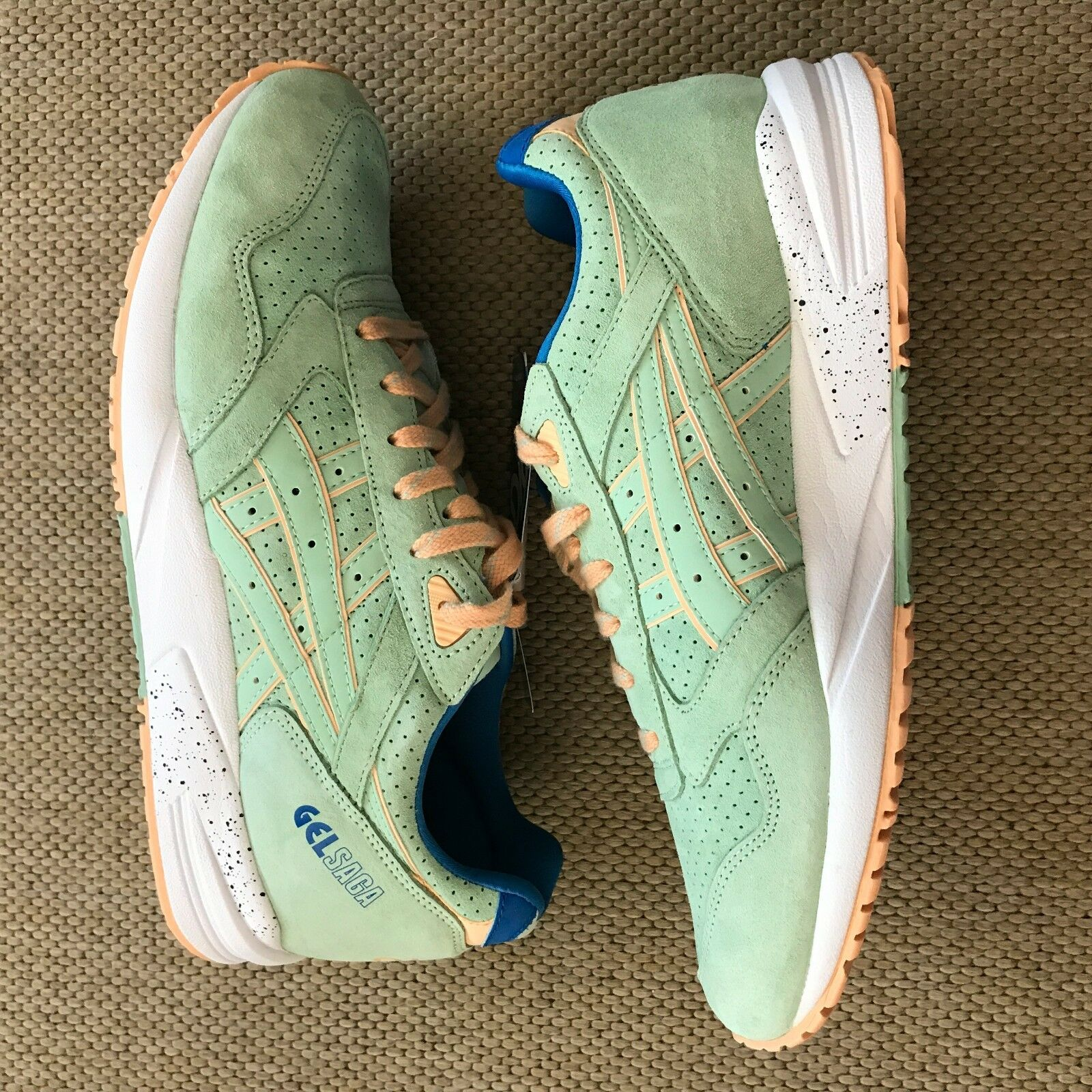 Asics Gel Saga Smoke Green  Easter Pack  H6A0L US9.5
