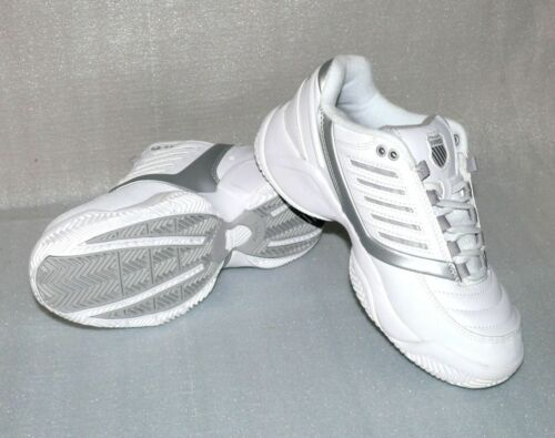 K-Swiss SURPASS LOW Leder Damen Schuhe Freizeit Sneaker Sport Schuhe Weiß EU 41