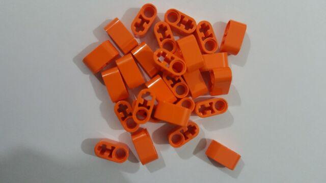 LEGO 10 x Technic Liftarm 1 x 2 Thick with Pin Hole /& Axle Hole BLACK