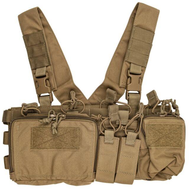 Black MBC Russian D3CR-H Heavy Tactical Chest Rig