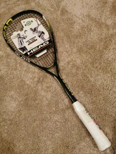 Head Neon Elite AFT Squash Raquette Lime//Black racquet * Brand New