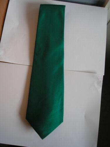 environ 7.59 cm vert jaune Luxe Uni Silk Ties £ 2.99 in noir or rouge gris. blanc