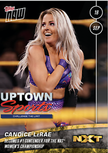 2019-Topps-NOW-WWE-NXT-19-Candice-LeRae-Becomes-1-Contender-for-the-NXT-Women