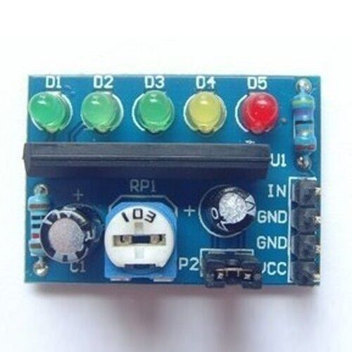 nivel de potencia indicador nivel indicando módulo Ka2284 2 X Audio indicador de nivel