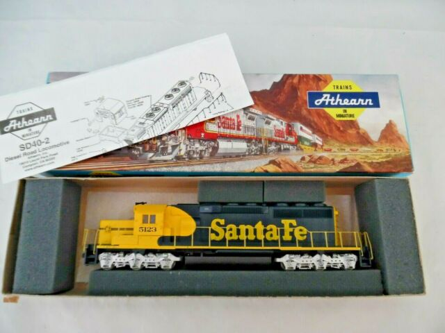 Microscale Ho Scale Decal Set 87 369 Santa Fe Diesel Locomotive Sd40 Snoot For Sale Online Ebay