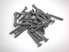"""40- 1/4"""" x 2.5"""" PLATED Torx Self Tapping Trailer Deck Screws ACQ Treated Wood"""