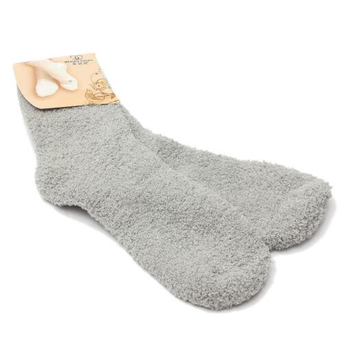 Damen Plüschsocken Bettsocken Kuschelsocken Flauschsocken Winter Thermo Socken
