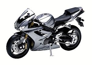 Details About Welly Triumph Daytona 675 118 Scale Model Motorcycle High Quality Collector New