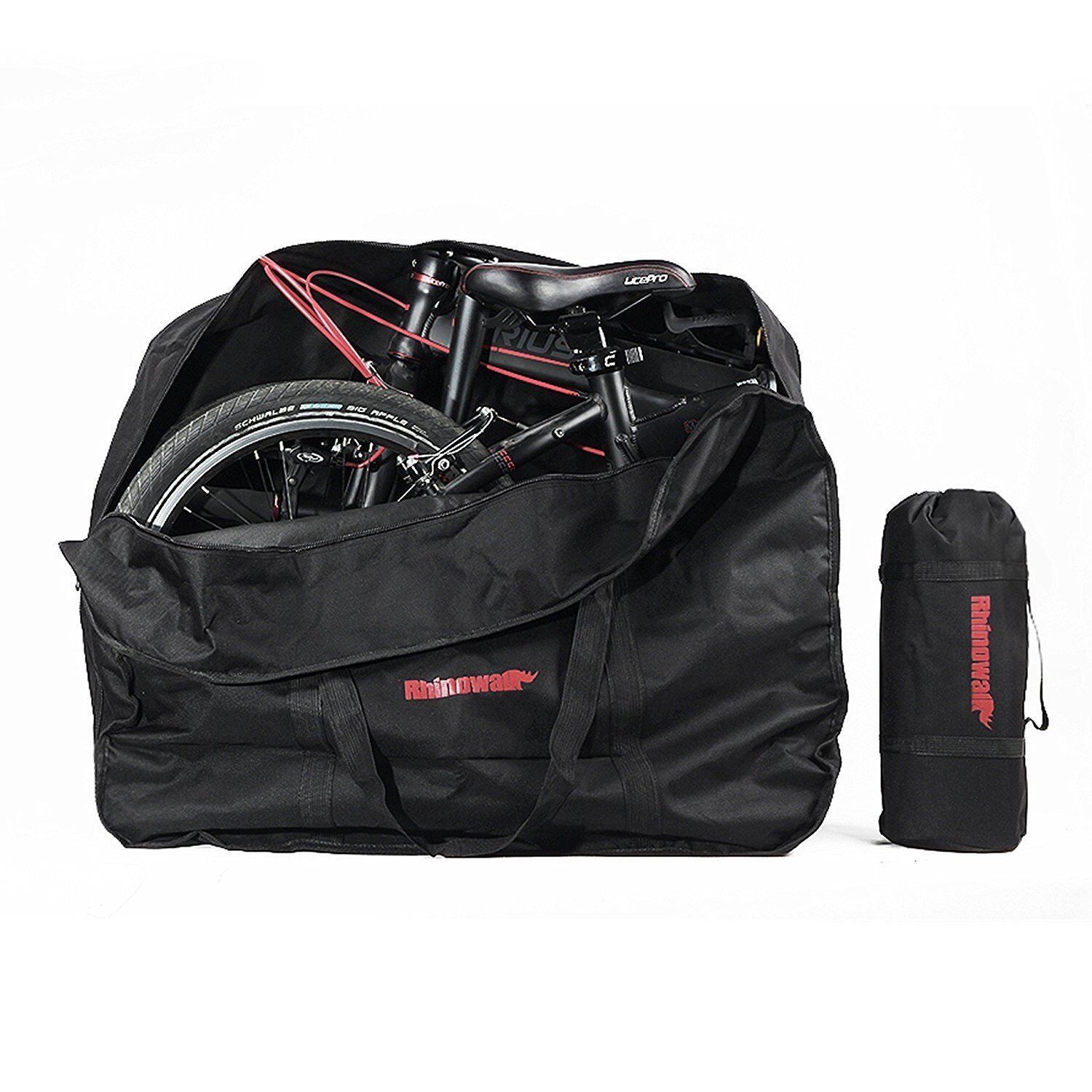 20inch Bike Travel Bags Box Bicycle Folding Carry Bag Pouch Bike Transport Cases
