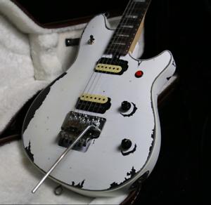 stock custom shop handmade relic electric guitar white color floyd rose bridge 6651582087237 ebay. Black Bedroom Furniture Sets. Home Design Ideas