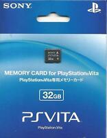 100% Official Sony Ps Vita 32gb Memory Card Playstation Psv free Shipping