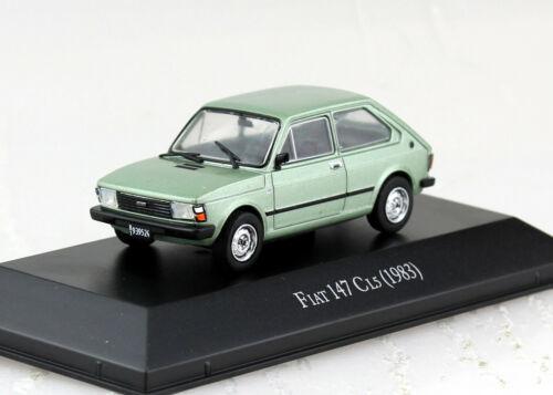 Fiat 147 cl5 1983 blister 1:43 Salvat Ixo maqueta de coche