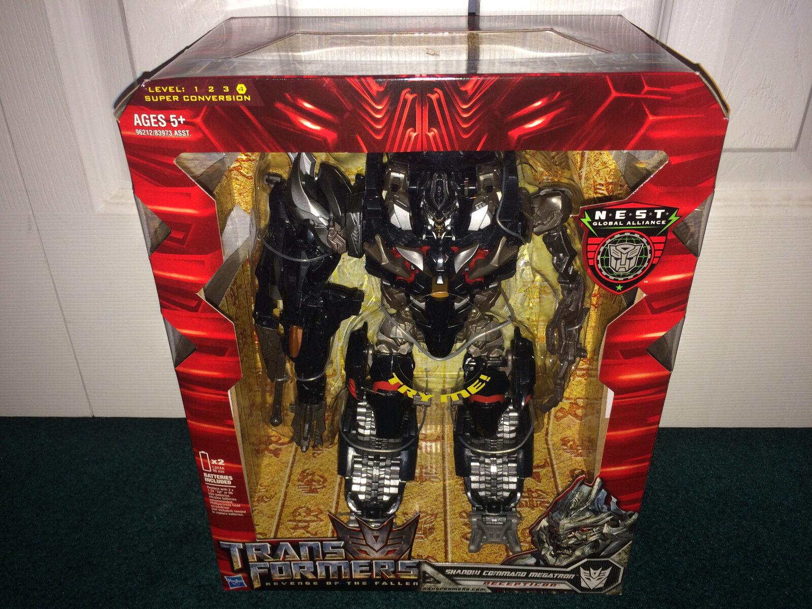 Megatron Leader Class rojof comando de sombra Transformers Hasbro 2009 Sellado
