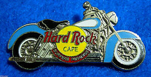 Surfers-Paradiso-Bianco-Blu-Indiano-Motore-Cycle-Bicicletta-Logo-Hard-Rock-Cafe