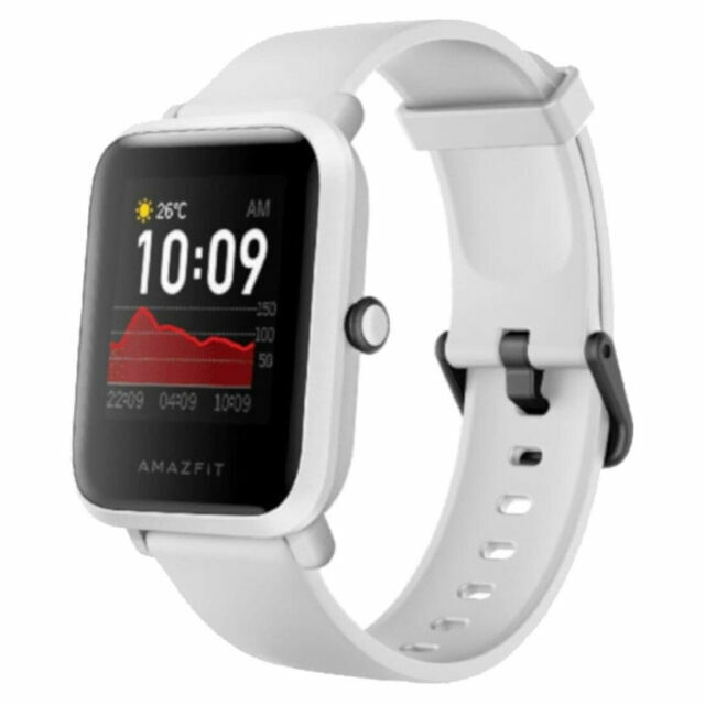 Amazfit BIP S Smart Watch – White Rock for sale online | eBay