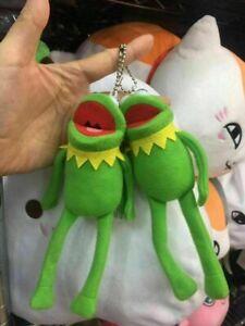 Muppets-Kermit-the-Frog-Felpa-Muneca-Juguete-Llavero-Llavero-Colgante-1-un