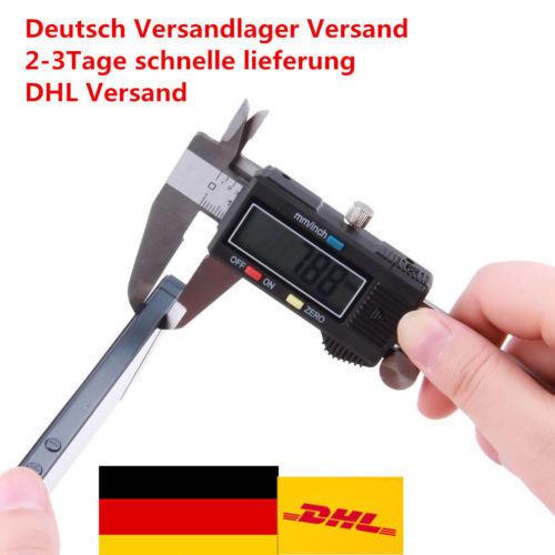 """Digital LCD Schieblehre Messchieber Messschieber 150mm 6/"""" Digital LCD Caliper pC"""