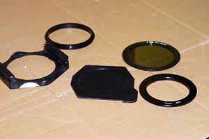 Porte filtres Cokin avec adaptateur 49mm + filtre polarisant Série A