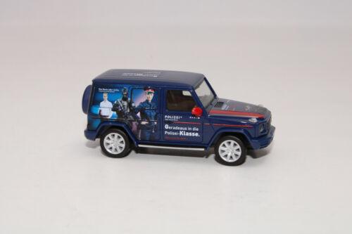 """NEU in OVP Herpa 094757-1:87 Mercedes-Benz G-Modell """"Polizei Österreich"""""""