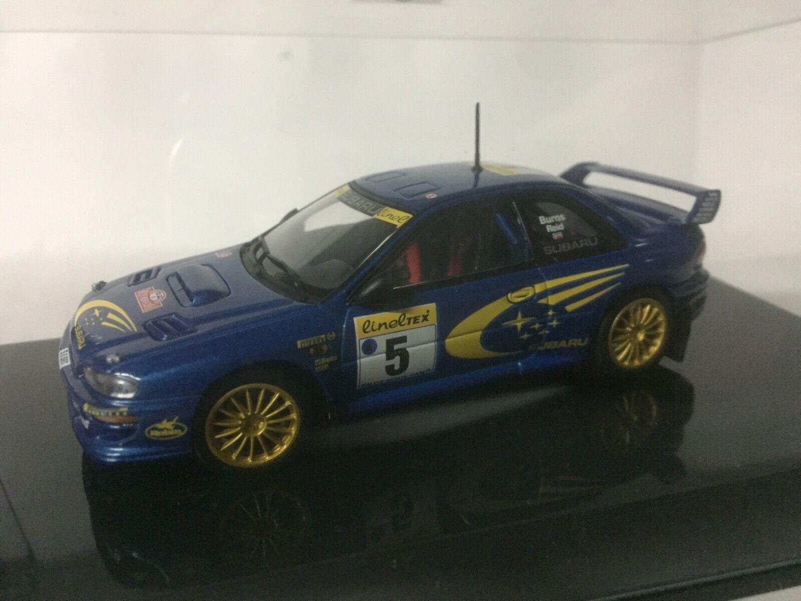 Miniature Subaru Impreza WRC  Autoart