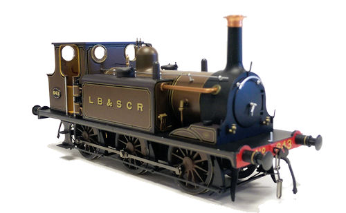 Dapol 7S-010-009 Terrier A1X Gipsy Hill 643 Marsh Umber marrone O Gauge