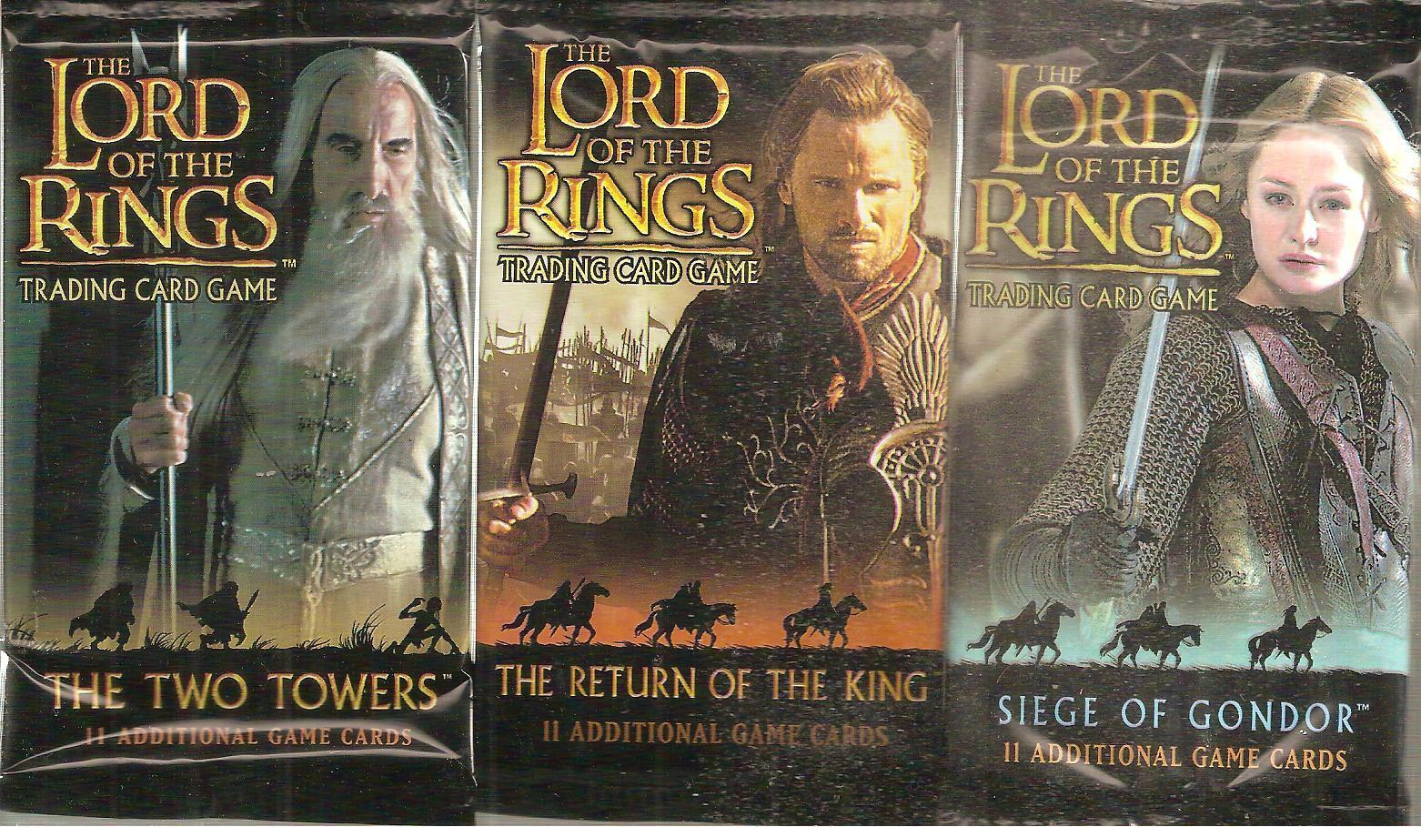 Lord Of The Rings TCG   CCG  Mixed Boosters  x 17 Sealed  LOT