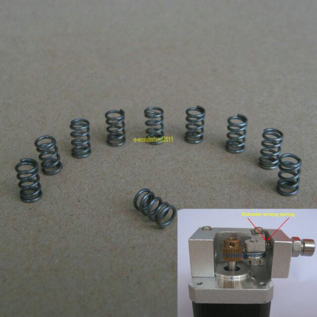 10 pcs Leveling Extruder Springs for Reprap Prusa Mendel 3D Printer