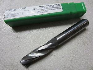 "PTD 37//64/"" Precision Twist Drill Solid Carbide Short Length Stub 3 Flutes 006037"