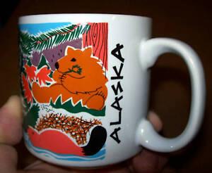 Colorful-Wildlife-in-Alaska-on-a-10-ounce-Coffee-mug-New-amp-Unused
