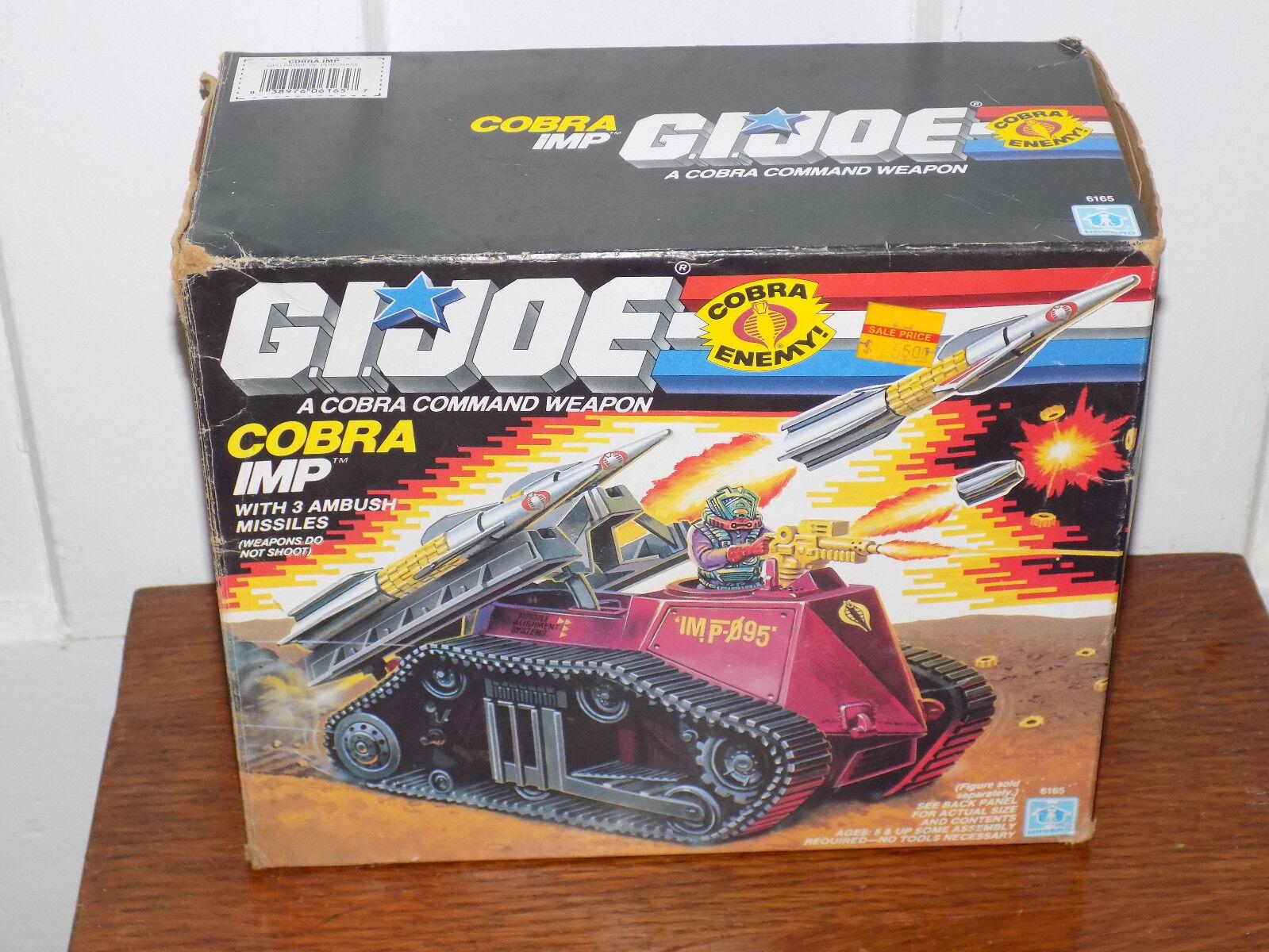 GI Joe Cobra Imp with Box 1988