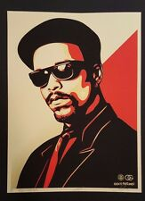 Shepard Fairey Ice-T OG Red Print Signed LE Obey Friedman not banksy kaws dface