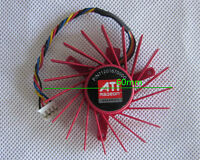 60mm VGA Video Card Fan For ATI Radeon HD 4850 3850 40mm PLD06010B12HH 4Pin US