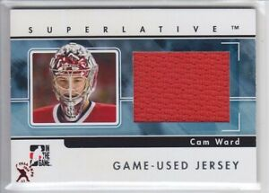 2015-16-ITG-FALL-EXPO-09-10-SUPERLATIVE-CAM-WARD-1-1-JERSEY-GAME-USED-Hurricanes