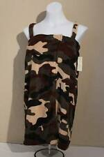 NEW Womens Spa Wrap Shower Bath Swim Cover Up Towel Large / XL Robe Camouflage