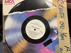 "THE JETS CRUSH ON YOU 12"" 1985  MCA L33-17098 DJ PROMO"