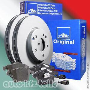 ATE-Bremsscheiben-Bremsbelaege-Mercedes-E-Klasee-W211-CLS-300mm-HINTEN-WAKO