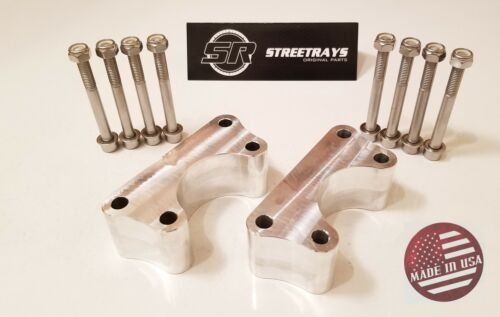"StreetRays 86-98 Toyota IFS Pickup T100 3/"" Front Lift Kit Ball Joint Spacers 2WD"