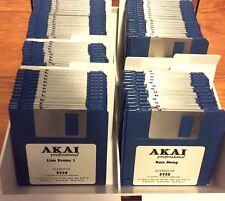 100 Akai S900 S950 Sound Library Images For HxC Floppy Emulator - VOLUME 1