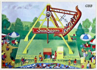Ho 1:87 Scale Circus Carnival Sea Dragon Ride Kit Ihc In Sealed Box 5118