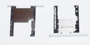Original Nokia Lumia 720 Micro SD Halter Schlitten Holder Tray weiss