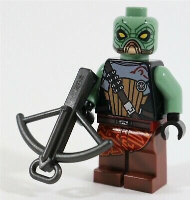 Authentic LEGO Star Wars Embo Minifigure sw307 7930 Kyuzo Bounty Hunter