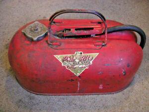 Gasoline tank • antique Phil Rite out board motor boat • 2.5 gallon ... e4dd321ec574c