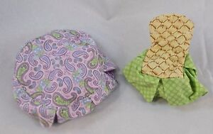 Fisher-Price-Loving-Family-Dollhouse-Round-Table-Cloth-amp-Chair-Cover