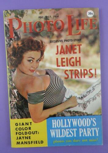 Jane Mansfield Poster Photo Life October 1958 Janet Leigh Unused Stock!